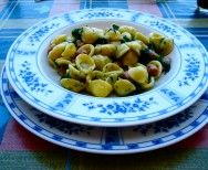 Orecchiette with Spinach and Beans