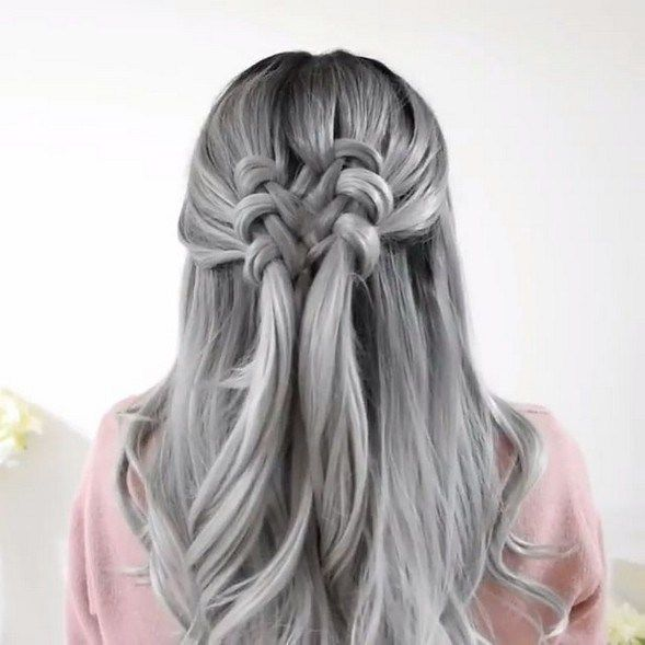 50+ Silver and White Highlights Hair for Eternal Youth #haircolor #hairstyleforwoman #womanhairstyle » Fcbihor.net