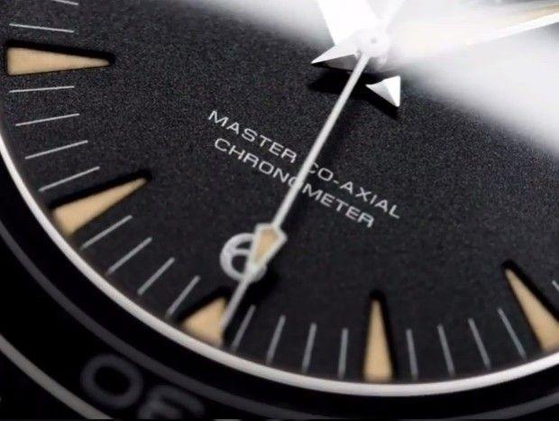 The classics strike back? -- Omega Seamaster 300 Reissue Dial Detail