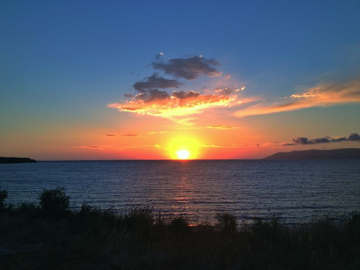 Eftalou sunset