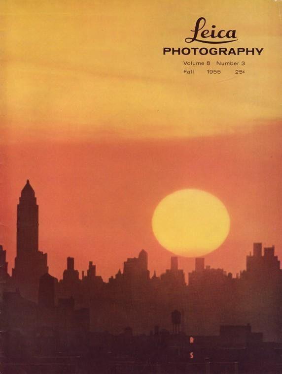 Leica Photography 3 1955 125mm Hektor Lens Alfred Eisenstaedt Tricks