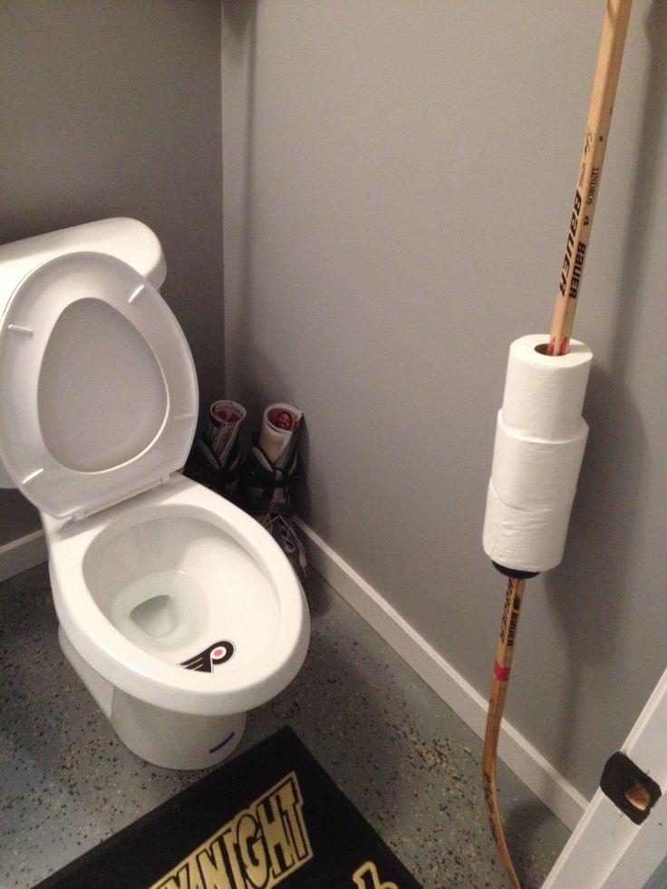 Hockey Bathroom