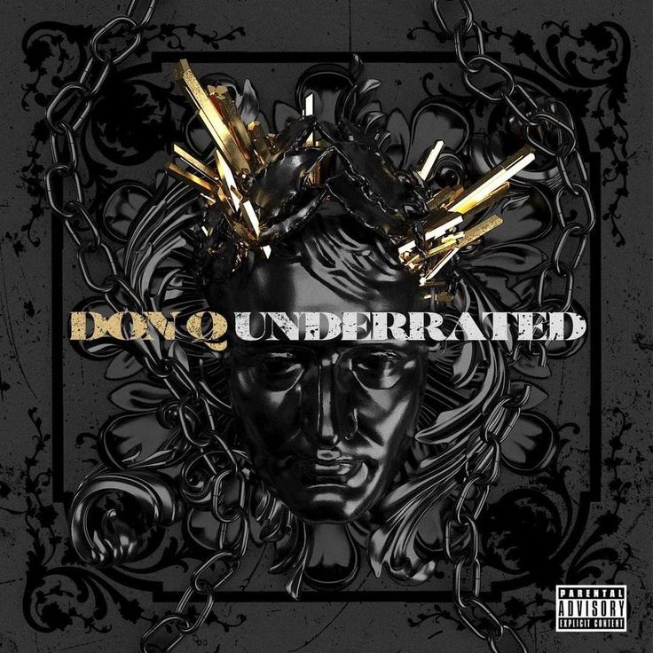 Don Q Underrated [COVER/TRACKLIST] donqhbtl [COVER