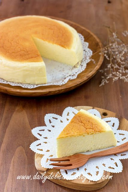 dailydelicious: Japanese Souffle cheesecake