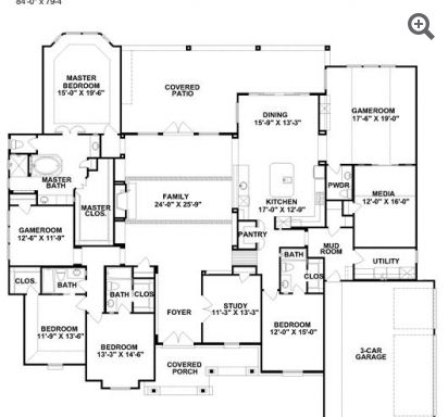 25 best partners in building images on pinterest house floor plans plan hill country 95007 is a 4036 sq ft 4 bedroom home in hill country built and designed by partners in building custom home builder in texas malvernweather Gallery