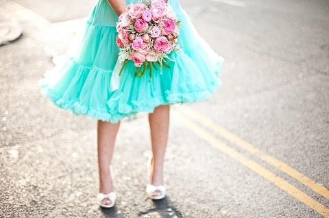 styled shoot: pink & aqua lifestyle shoot for propose pr