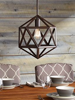 Make your lighting the focal point with the CANVAS Kingsley Ceiling Light.