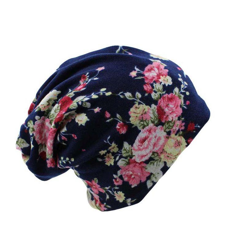 Surpresa Preço New Moda 2 Usado Mulheres Flor Chapéu Cachecol Outono malha Caps 4 Cores Casual Gorros Skullies Gorro Sólida venda