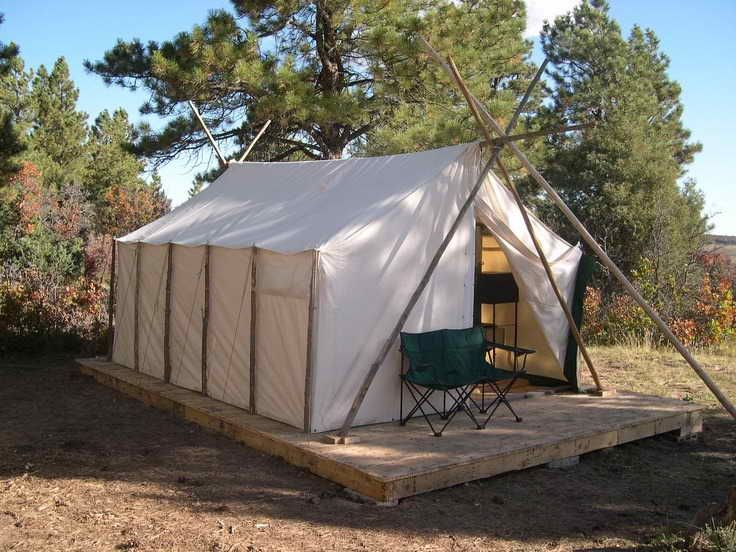 How To Build A Canvas Tent Frame Canvas Wall Tent Wall Tent Tent