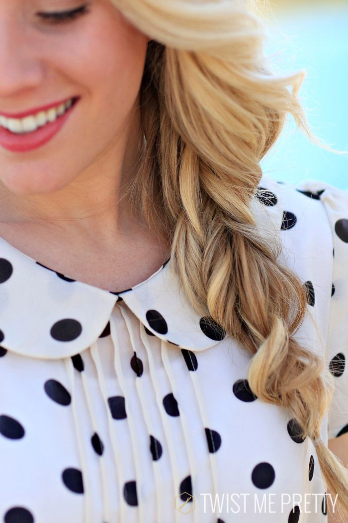 The bohemian braid is back!-- Perfect for fixing bad hair days & matches with any outfit.