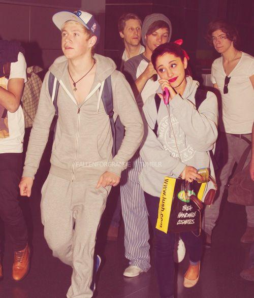 Niall and Ariana <3