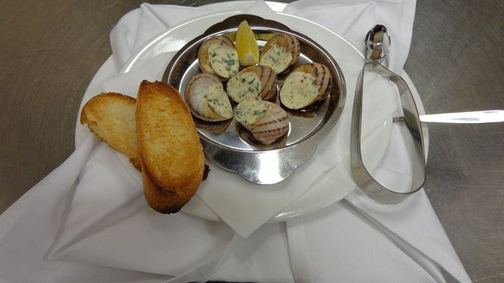 Speciality at Café-Restaurant Quisisana... Burgundy snails!