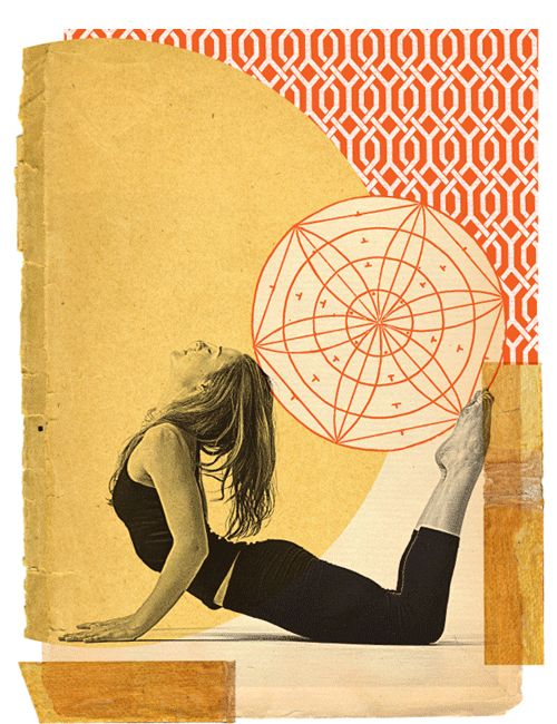 Bhujangasana  | Yoga collages - GREGORY RYAN KLEIN