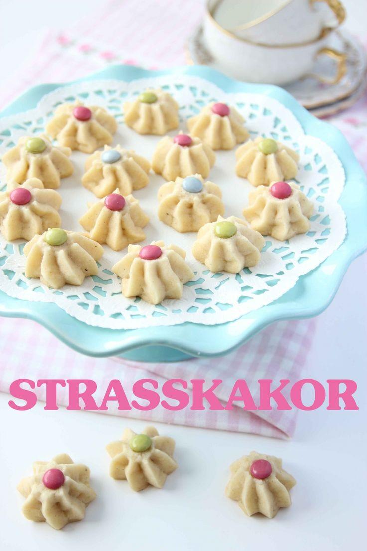 Strasskakor med chokladlinser | Tidningen Hembakat