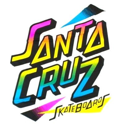 80s SANTA CRUZ SKATEBOARDS: Retro Summer Hits