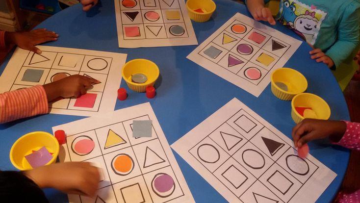 Mathematical awareness   Garderie Luney Toons