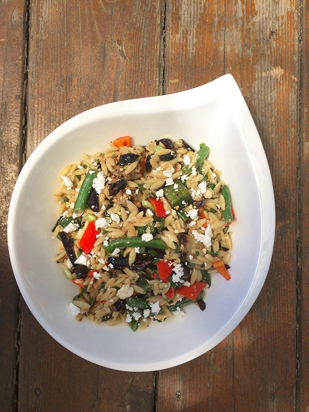 Mediterranean lentils and Vegetable Salad. Try a new salad this summer for the next family or work potluck. The combination of grilled and fresh vegetables makes this a winner for the weekend grilling get togethers.