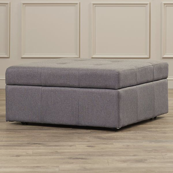 The Baronets Storage Ottoman is the perfect combination of luxury and utililty. It combines hidden storage with a cushioned top for extra seating.