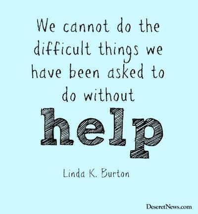 Sister Linda K. Burton | Popular quotes …