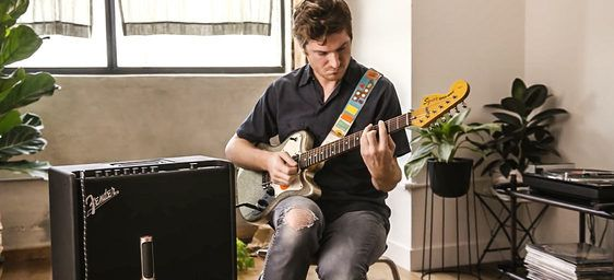 No Boundaries: The Creative Potential of the Mustang GT Series — Nick Reinhart on the creative vistas possible within Fender's latest amp series.    #Fender #FenderMustang #MustangAmp #MustangGT #NickReinhart #TeraMelos #Guitar #Squier #MathRock #Rock #RocknRoll #Create #Creative #Creativity #Music #Musician #Listen