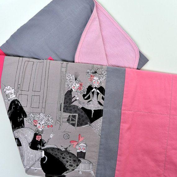 Goth Baby Blanket, Alexander Henry, The Ghastlies