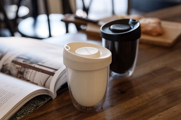 Image of UpperCup Reusable Coffee Cup #design #coffee #espresso
