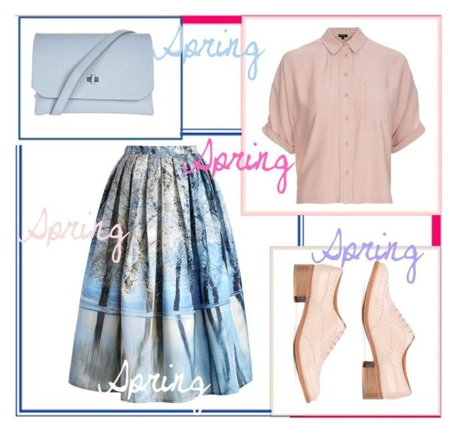 Spring by slytheriner on Polyvore featuring Topshop, Chicwish and Church's
