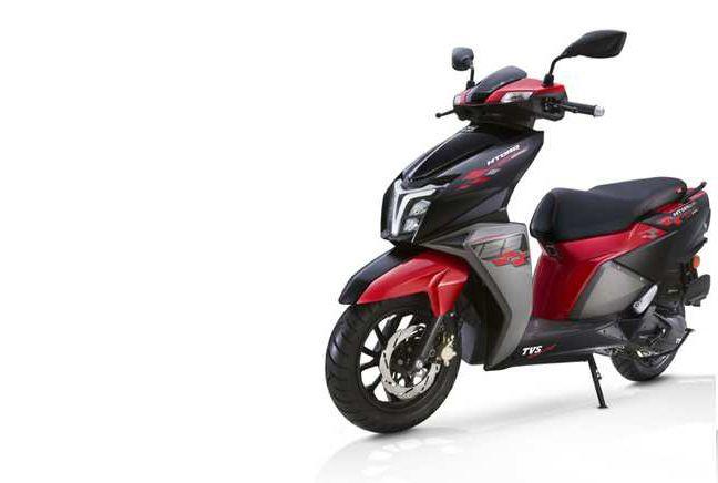 Tvs Motor Company Tvs Ntorq 125 Race Edition Srilanka Launch In