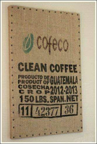 Coffee sack memo board                                                                                                                                                                                 More