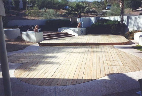 Custom Wood Pool Covers by Park Your Pool Phoenix Arizona 602-840-2642