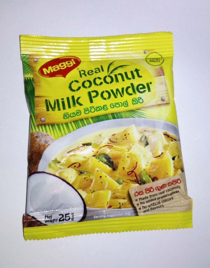 Real Coconut Milk Powder, 25G, Brand , Sri Lanka Ceylon Nestle Maggi Brand