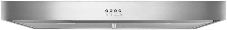Whirlpool WVU37UC4FS 24 Inch Under Cabinet Range Hood with FIT System, Dishwasher-Safe Filters, LED Task Lighting, 250 CFM and Recirculating Option
