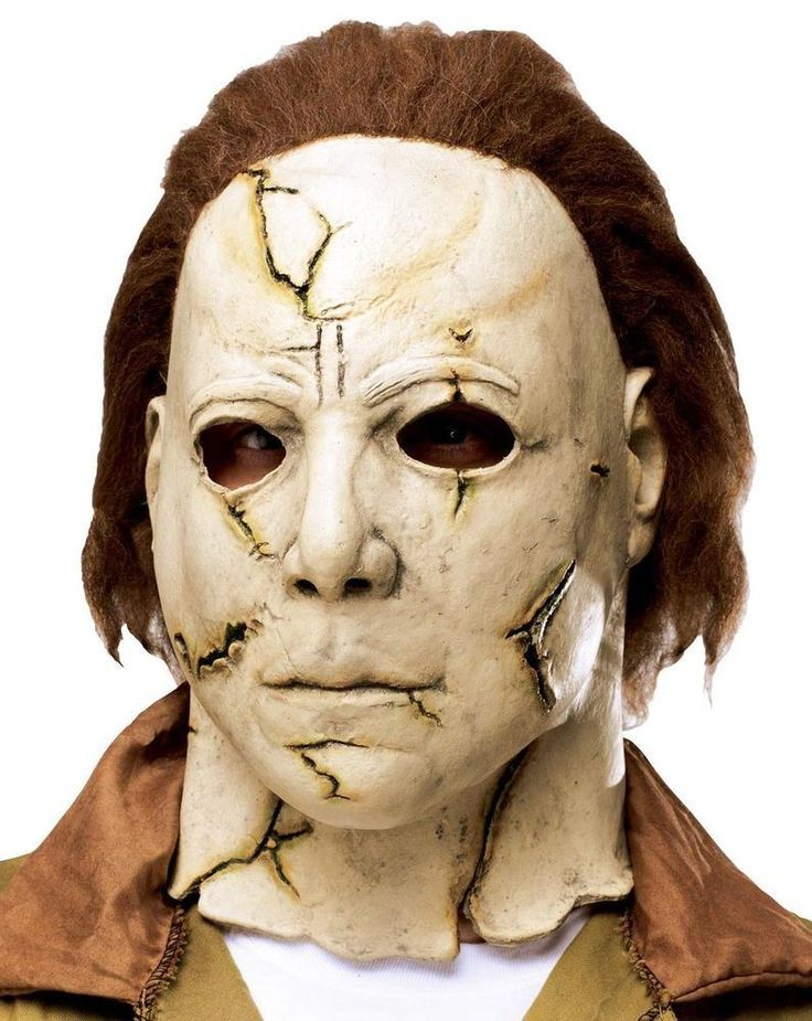 Halloween II Michael Myres ' Rob Zombie ' Full Latex Horror Mask 210915 - Dragons Den Fancy Dress Limited