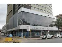 1 BEDROOM TO SHARE FOR A FEMALE @ JOHN ROSS THE FLAT IS FULLY FURNISHED RENT R1350   R1350 DEP...THE RENTAL INCLUDES WATER EXCLUDES ELECTRICITY ....FEMALE MUST BE EMPLOYED PLZ NOTE IT A ROOM TO SHARE AVAILABLE AS FROM 20MAY2015.... FOR MOR IINFO SEE ME @ 417 SMITH STREET, SANGRO HOUSE, 4TH FLOOR, OFFICE 411