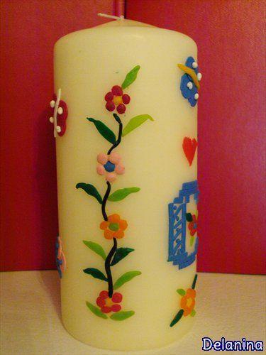 Diy decoración de velas | Aprender manualidades es facilisimo.com