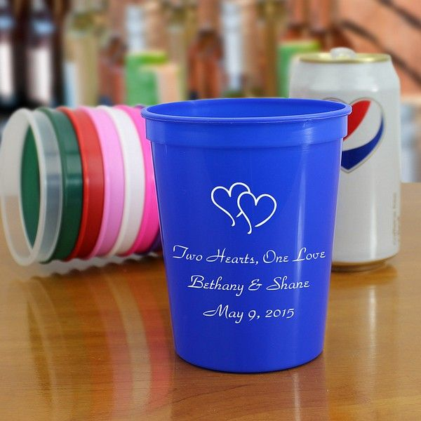 16 Oz Custom Wedding Cups Clipart 1802 To Have By Mywedding Eric And Betsy Pinterest Weddings