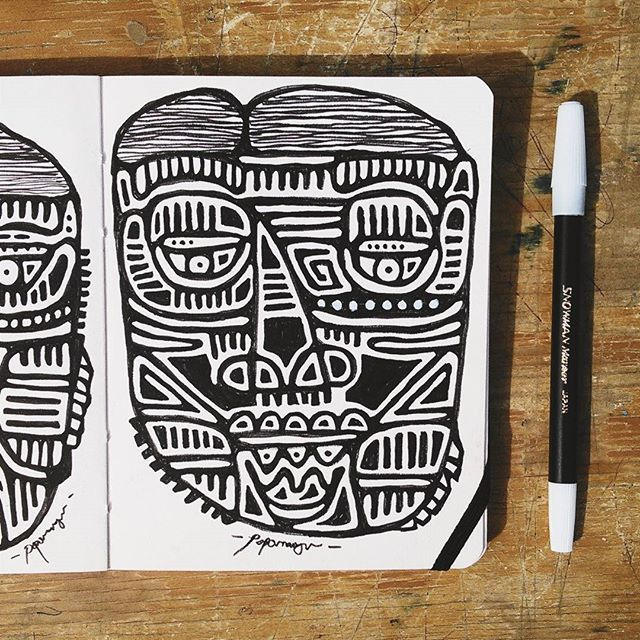 "#MorningDrawing ""Mangun Portrait Perspective"" Drawing Page Number #6  #Popomangun #Portrait #Drawing #Artwork by popomangun.jpg"