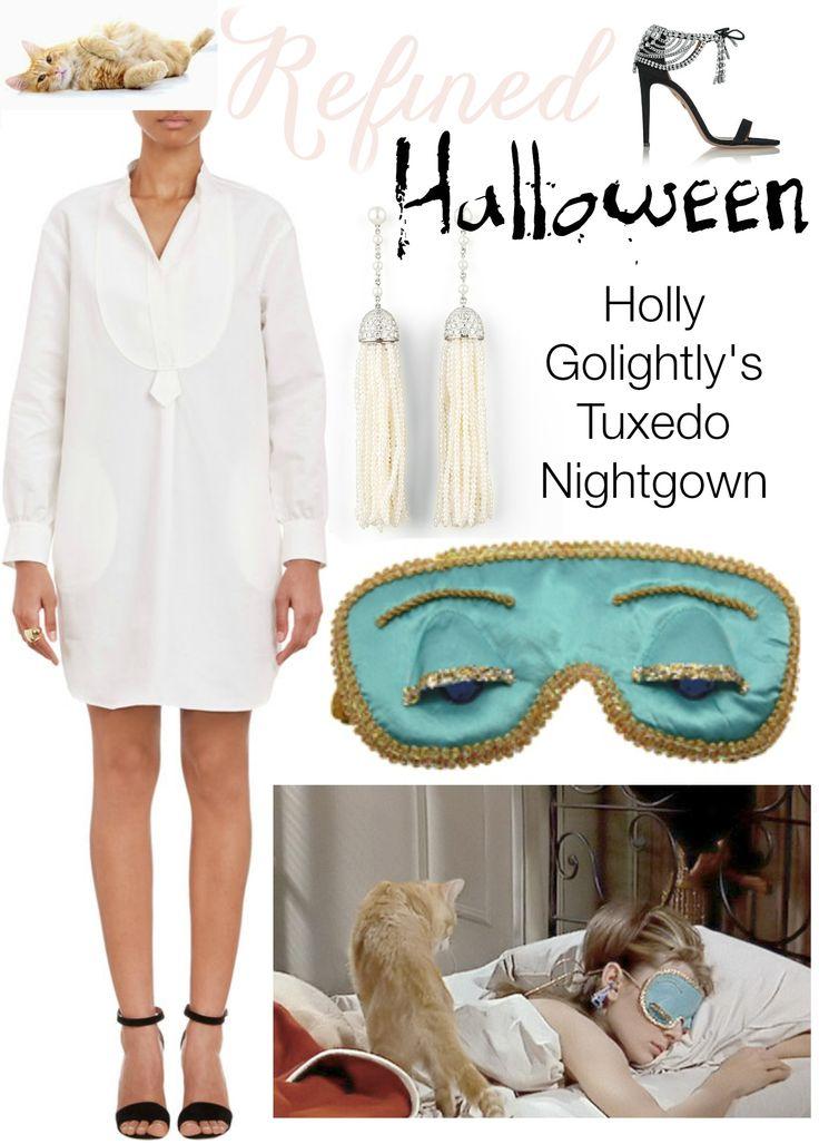 Refined Halloween Holly Golightly Breakfast at Tiffany's