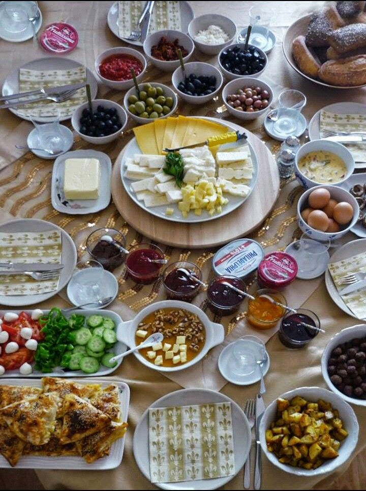 Breakfast Turkish Style