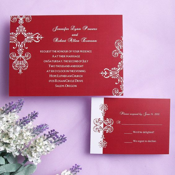 155 best vintage wedding invitations images on pinterest, Wedding invitations