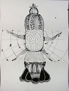 Exquisite Corpse drawing