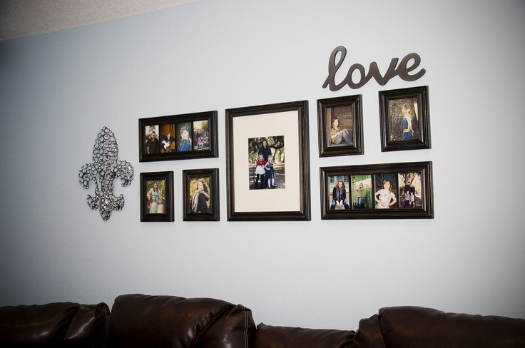 17 Best Images About Picture Frame Decor On Pinterest