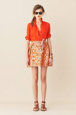 J. Crew: Summer Looks, Fashion Style, Orange You Glad, Fashion Models, J Crew, Looks Books, Cute Summer Outfits, Jcrew, Bright Colors