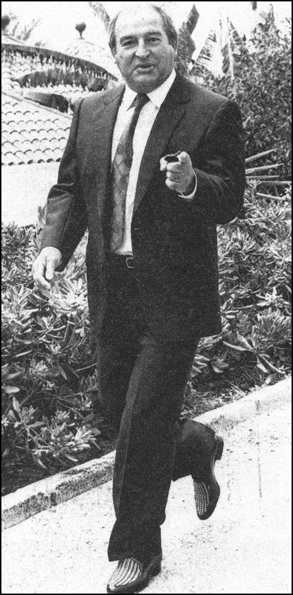 Freddie Foreman, the Krays' 'Go To Man'. He murdered Frank Mitchell in the back of a van on Ladysmith Road and later disposed of the body. He disposed of several murder victims bodies for the Kray twins.