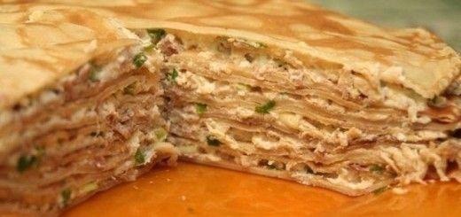 Рецепт лазаньи из блинов с фаршем