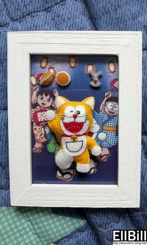 ●EllBill Miniature Felt craft_Doraemon ●Creator: EllBill (KimMinju) ●blog: alswn3011.blog.me/  ●E-mail: alswn3011@naver.com