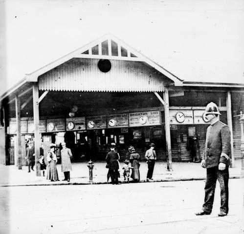 Flinders Street station, 1900s