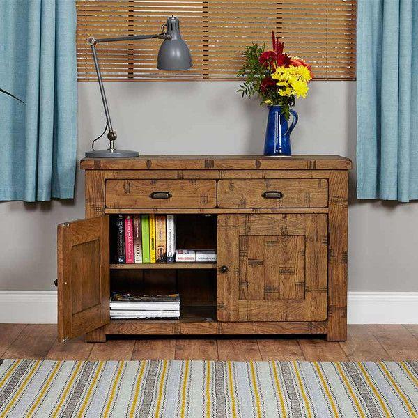 Heyford Rough Sawn Oak Small Sideboard
