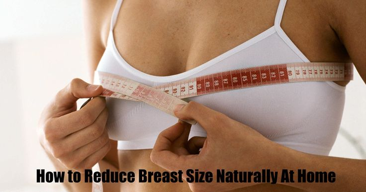How to Reduce Breast Size Naturally #ReduceBreastSize