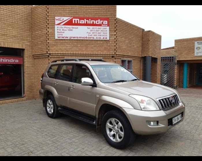 2004 Toyota Prado Vx 4 0 V6 A T Https Www Pwsmotors Co Za